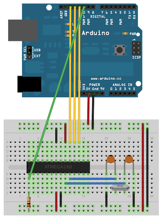 AVRDUDE Mikrocontrollernet
